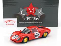 Ferrari Dino 206 S #196 第二 Targa Florio 1966 Guichet, Baghetti 1:18 CMR
