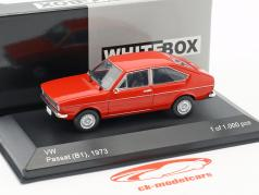 Volkswagen VW Passat B1 Opførselsår 1973 rød 1:43 WhiteBox