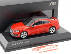 Audi RS 5 クーペ ミサノ 赤 1:43 Spark
