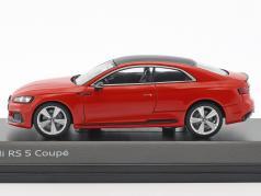 Audi RS 5 轿跑车 米萨诺 红 1:43 Spark