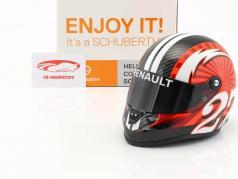 Nico Hülkenberg Renault R.S.17 Formel 1 2017 Helm 1:2 Schuberth