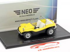 Volkswagen VW Dune Buggy Meyers Manx Opførselsår 1970 gul 1:43 Neo
