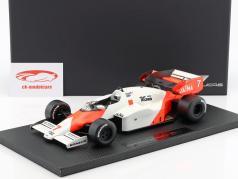 Alain Prost McLaren MP4/2 #7 segundo fórmula 1 1984 1:18 GP Replicas