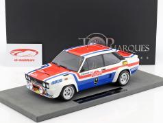Fiat 131 Abarth #9 vinder Rallye San Remo 1977 Andruet, Delferrier 1:18 TopMarques