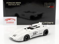 Porsche 908/02 Gulf Steve McQueen Holtville 1970 bianco 1:18 AUTOart