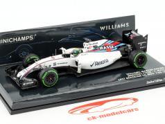 Felipe Massa Williams FW38 #19 almost last Race formule 1 2016 1:43 Minichamps