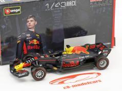 Max Verstappen Red Bull RB13 #33 fórmula 1 2017 1:43 Bburago