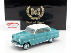 Opel Olympia Rekord Baujahr 1953 türkis / weiß 1:18 BoS-Models