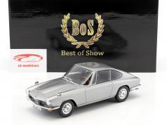 BMW 1600 GT Baujahr 1968 silber 1:18 BoS-Models