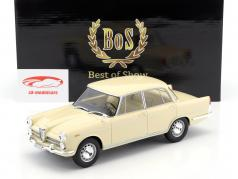 Alfa Romeo 2000 Baujahr 1958 beige 1:18 BoS-Models