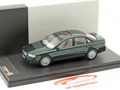 Volvo S80 year 1999 dark green metallic 1:43 Premium X