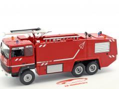 Thomas VMA 72 Armee de l'air brand vrachtwagen rood / wit 1:43 Atlas