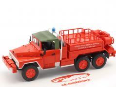ACMAT 6x6 SDIS de la Dordogne brandweer rood 1:43 Atlas
