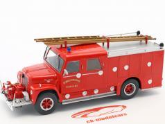 International Loadstar Wasterlain Verviers Fire Department red 1:43 Atlas