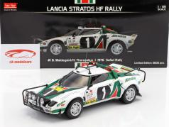 Lancia Stratos HF Rally #1 Safari Rallye 1976 Waldegard, Thorszelius 1:18 SunStar
