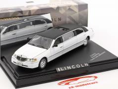 Lincoln Town Car Limousine Année de construction 2000 blanc / noir 1:43 Vitesse
