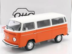 Volkswagen VW Kombi T2 Bus ano de construção 1978 laranja / branco 1:12 OttOmobile