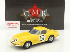 Ferrari 275 GTB #57 10th 24h LeMans 1966 Noblet, Dubois 1:18 CMR