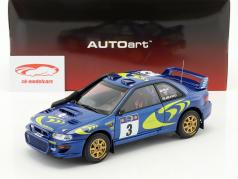 Subaru Impreza S3 #3 vincitore Rallye Safari 1997 McRae, Grist 1:18 AUTOart