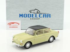 Volkswagen VW 1500 S (type 3) Opførselsår 1963 beige / sort 1:18 Model Car Group