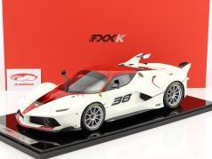 Ferrari FXX-K #38 weiß / rot 1:12 BBR