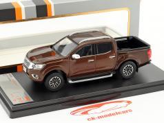 Nissan Navara anno di costruzione 2017 marrone metallico 1:43 Premium X