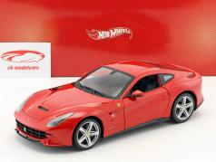 Ferrari F12 Berlinetta Year 2012 red 1:18 HotWheels Heritage