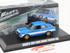 Ford Escort RS2000 MKI 1994 Fast and Furious VI Movie Car 1:43 Greenlight