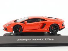 兰博基尼Aventador LP 700-4 2011年橙色金属1:43 AUTOART
