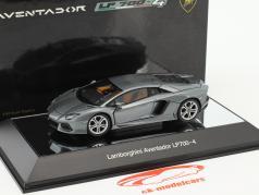 Lamborghini Aventador LP700-4 Baujahr 2011 grau 1:43 AUTOart
