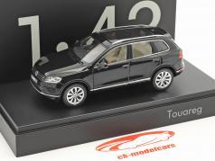 Volkswagen VW Touareg year 2015 black 1:43 Herpa