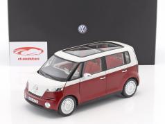 Volkswagen VW Bulli konceptbil 2011 rød 1:18 Norev