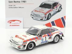 保时捷 911 SC Gr.4 #1 圣雷莫拉力赛 1981年 车手:Röhrl, Geistdörfer 1:18 OttOmobile
