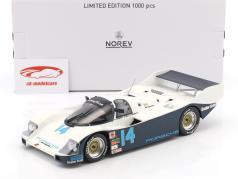 Porsche 962 C #14 gagnant 24h Daytona 1986 Holbert, Unser, Bell 1:18 Norev