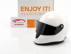 Schuberth SF1 Miniatur Replica Helm Plain Body Version weiß 1:2 Schuberth