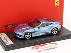 Ferrari Portofino year 2017 blue 1:43 LookSmart