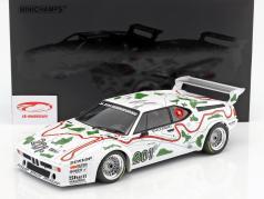 BMW M1 Gr.4 #201 tercero 1000km Nürburgring 1980 Stuck / Piquet 1:12 Minichamps