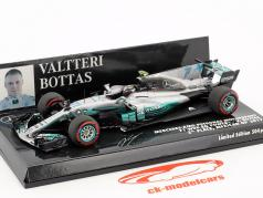 Valtteri Bottas Mercedes F1 W08 EQ Power  #77 第2回 Mexiko GP F1 2017 1:43 ミニチャンプス