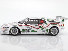 BMW M1 Gr.4 #201 3e 1000km Nürburgring 1980 Stuck / Piquet 1:12 Minichamps