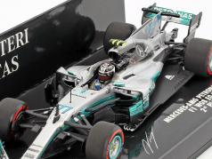 Valtteri Bottas Mercedes F1 W08 EQ Power  #77 第2 Mexiko GP F1 2017 1:43 Minichamps