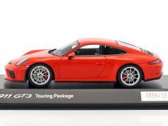 Porsche 911 (991 II) GT3 Touring Package 2017 岩浆 橙 1:43 Spark