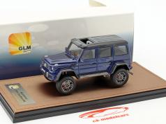 Mercedes-Benz AMG G550 4x4 year 2016 blue metallic / black 1:43 GLM