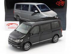 Volkswagen VW T6 Multivan Highline black 1:18 NZG
