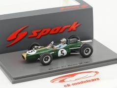 Jack Brabham Brabham BT7 #5 Monaco GP Formel 1 1964 1:43 Spark