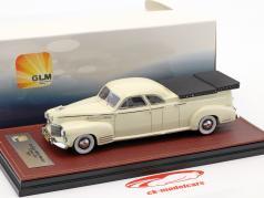 Cadillac Miller Meteor Flower Car year 1941 white 1:43 GLM