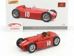 Lancia D50 #10 второй Pau GP формула 1 1955 Eugenio Castellotti 1:18 CMC