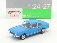 Ford Capri ano de construção 1969 azul claro 1:24 Welly