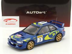 Subaru Impreza S3 WRC #3 Rallye Monte Carlo 1997 McRae, Grist 1:18 AUTOart