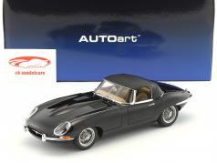 Jaguar E-Type Roadster Series I 3.8 anno di costruzione 1961 nero 1:18 AUTOart