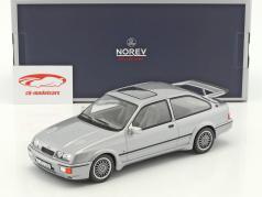 Ford Sierra RS Cosworth ano de construção 1986 cinza metálico 1:18 Norev